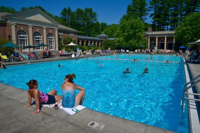 Saratoga's Victoria Pool In New York Is America's First Heated Pool