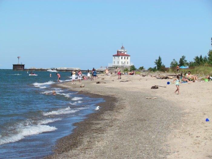 The Longest Beach In Ohio Headlands