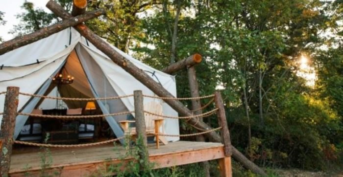 4 Beautiful Glampgrounds Around The U.S. That Will Blow You Away