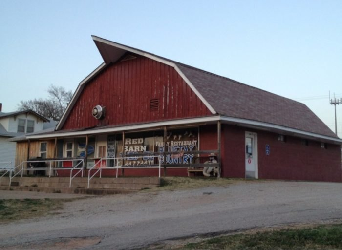 The Old Kansas Barn Hiding A Restaurant | Only In Your State