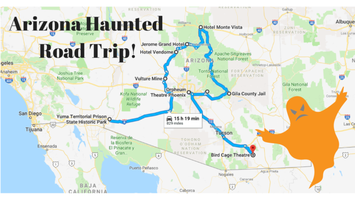 Road Trip To The Ten Most Haunted Places In Arizona