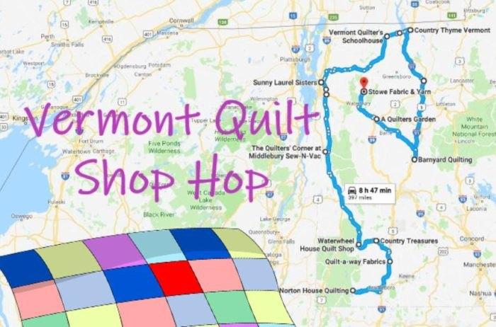 Take The Vermont Quilt Shop Hop To Visit 15 Colorful Quilt Shops