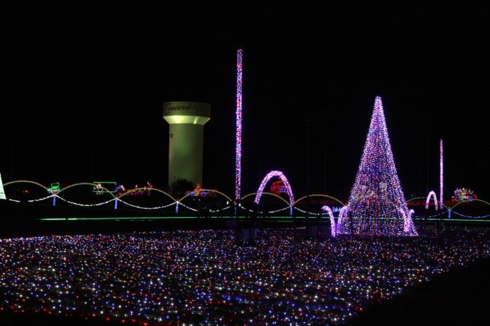Drive Thru Christmas Light Displays Near Me.Visit The Largest Drive Thru Christmas Light Show In North