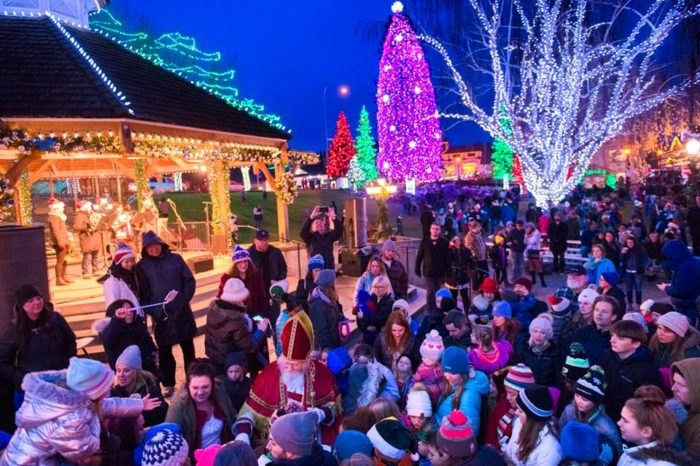 Leavenworth Christmas Lights.Leavenworth Washington Becomes More Magical Year After Year