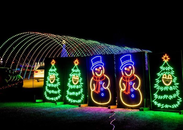Christmas In Color.Christmas In Color Is Utah S Largest Drive Thru Light Show