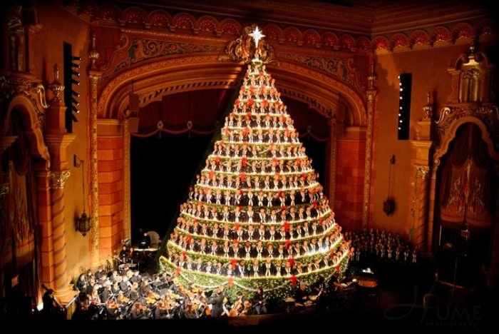 Michigan Is Home To Tallest Singing Christmas Tree In The