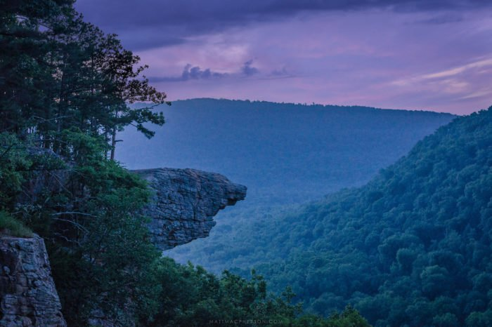 Whitaker Point In Arkansas Looks Like Pride Rock From The