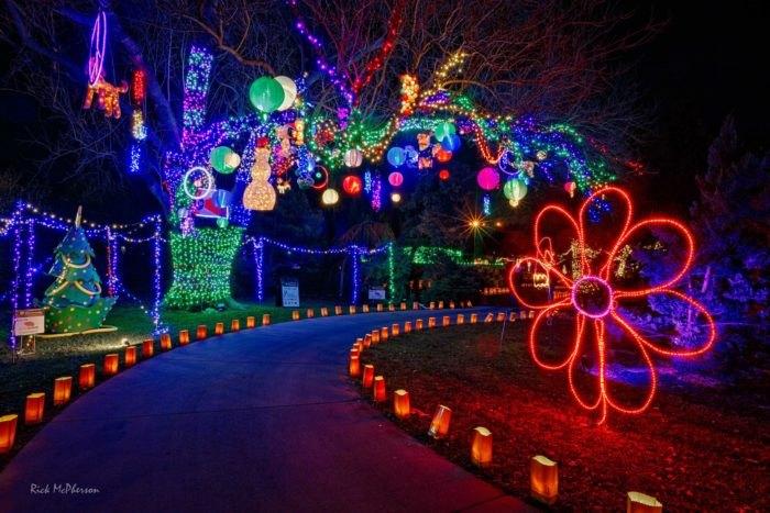 Christmas Lights In Wichita Ks.The Kansas Garden With 2 Million Christmas Lights