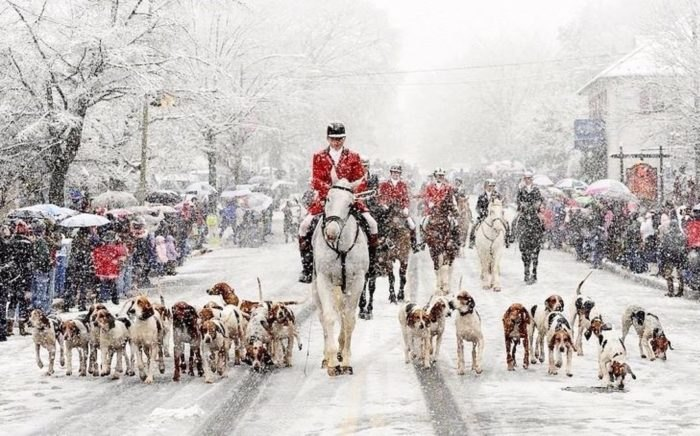 Christmas In Middleburg.Middleburg Virginia Turns Into A Christmas Wonderland Each Year