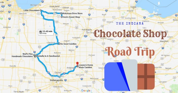 8 Vintage Chocolate Shops In Indiana Make A Perfect Road Trip on historic aerials indiana, white pages indiana, mapviewer indiana, gasbuddy indiana, craiglist indiana, facebook indiana, alois johnson fort wayne indiana, city street map indianapolis indiana, is there gold in indiana, zillow indiana, world atlas indiana, google map of the midwest, usa map indiana, google map allentown, google map southeast, map of indiana, rand mcnally indiana, google map of chicago,