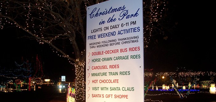 Christmas In The Park Elk City Oklahoma Is Home To