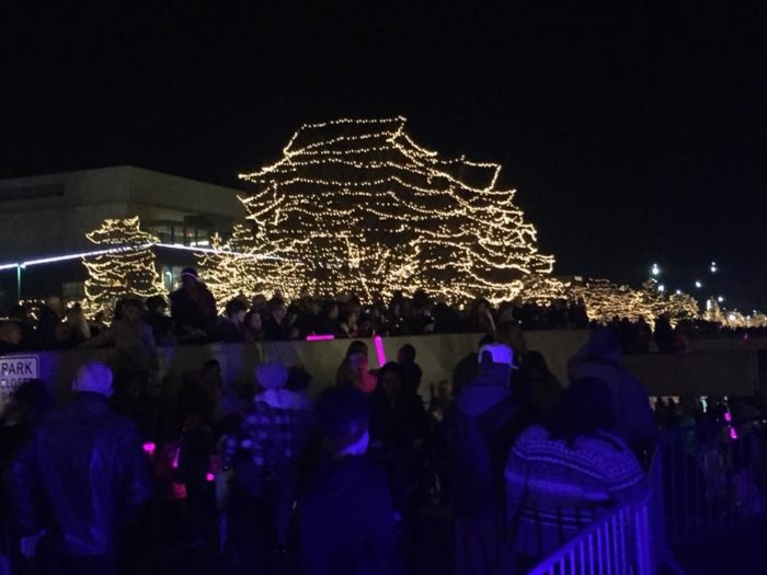 On Thanksgiving this year, the switch was flipped to start the magnificent Holiday Lights Festival in downtown Omaha.