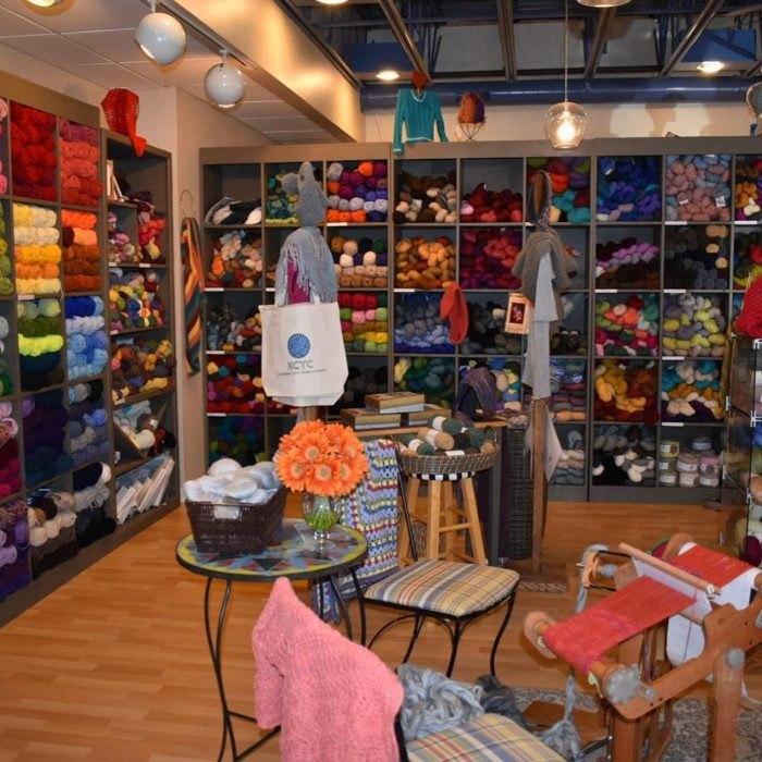Kanawha City Yarn Company In Charleston West Virginia Is A Fiber
