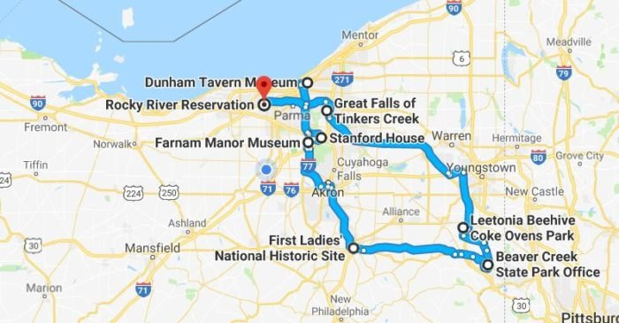 Northeast Road Trip >> This Road Trip From Cleveland Is A Trip Through Time