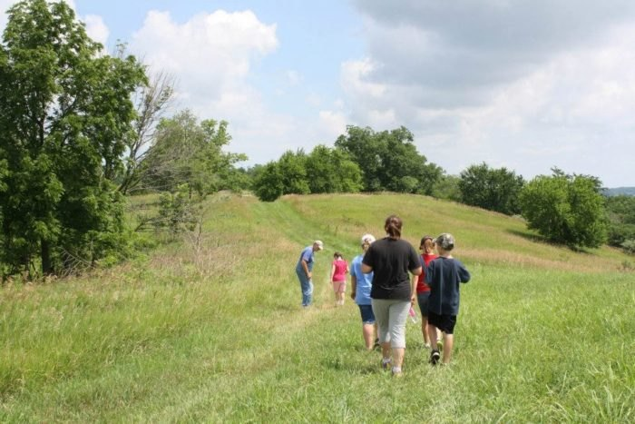Dickson Native American Mounds In Lewistown, Illinois Is A