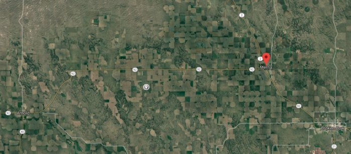 A Possible Meteorite Impact Crater In A Remote Field In Nebraska