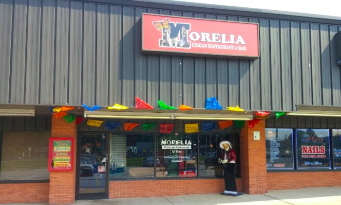 Morelia Mexican Restuaurant In Newark Delaware Serves Great