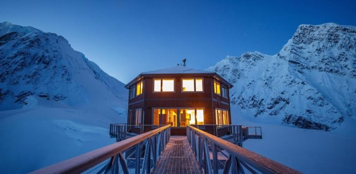 This Remote Alaskan Lodge Is The Perfect Place To See The Northern Lights