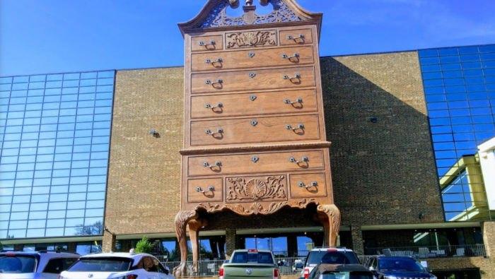 Furnitureland South Furniture Store In North Carolina Is So Big It