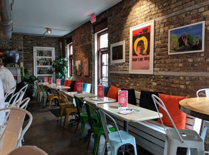 Cane Rhum Bar And Restaurant In Charleston South Carolina