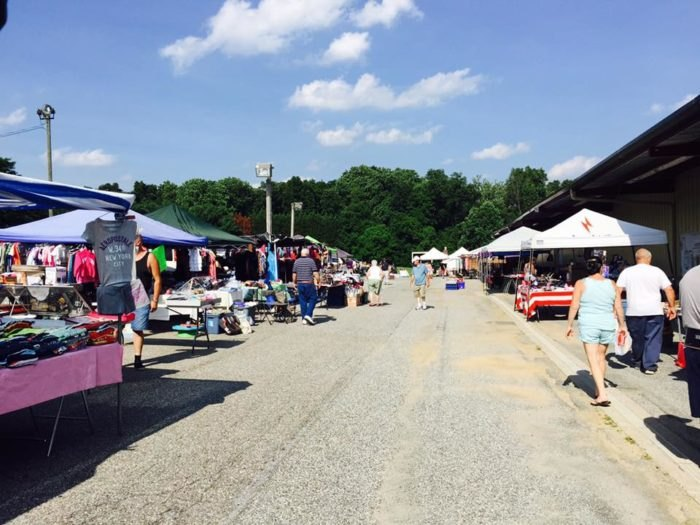 Hunters Sale Barn In Maryland Is A Flea Market And So Much More