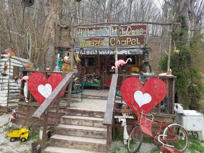 Hillbilly Weddin Chapel In West Virginia Is Unlike Any