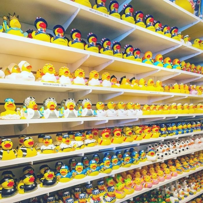 The World's Largest Rubber Duck Store Is Here In Massachusetts