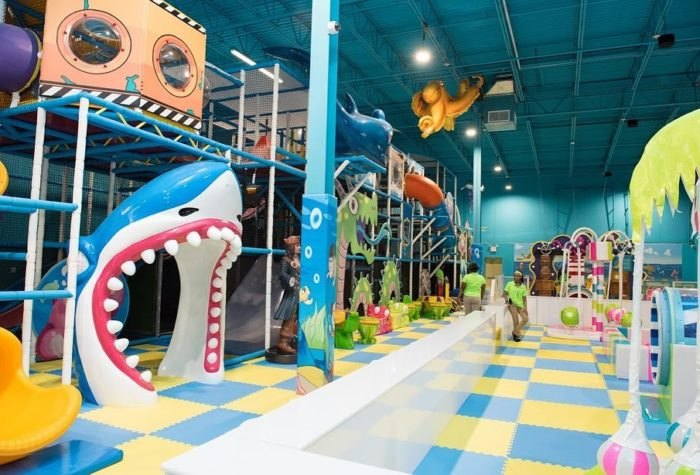 Hyper Kidz Is An Ocean-Themed Indoor Playground In Maryland