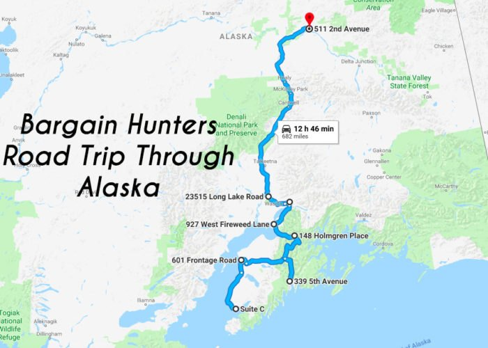 This Road Trip Will Take You To The Best Thrift Stores In Alaska