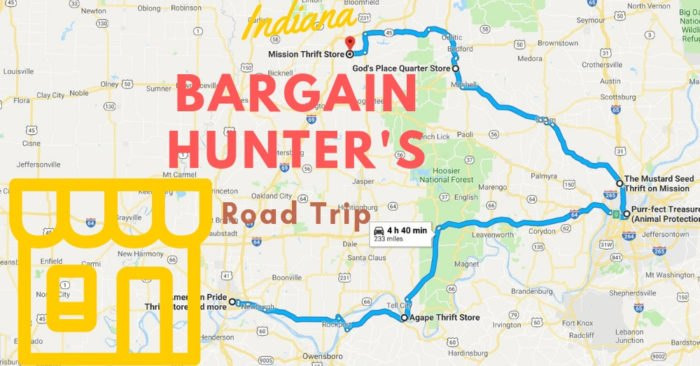 Thrift Stores Road Trip Through Indiana Is For Bargain Hunters