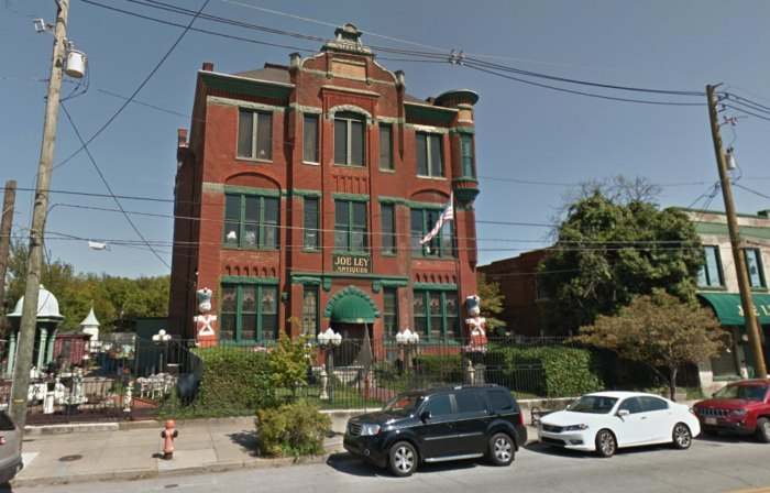 Joe Ley Antiques Is A Massive Three Story Antique Shop In