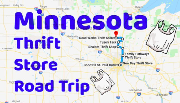 This Road Trip Will Take You To The Best Thrift Stores In
