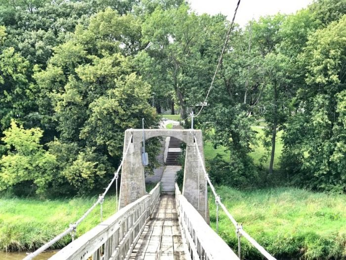 The Iowa Falls Swinging Bridge Is A Historic Wonder With ...