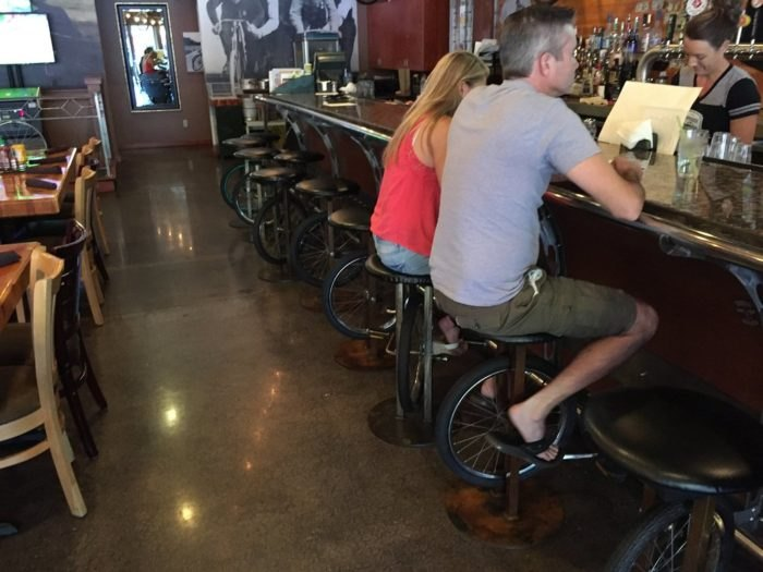 Superb The Bicycle Themed Bar In Idaho You Absolutely Have To Visit Evergreenethics Interior Chair Design Evergreenethicsorg