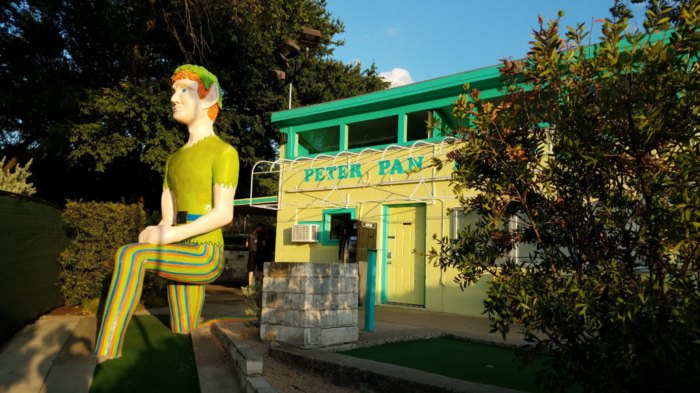 Peter Pan Themed Miniature Golf Course In Texas