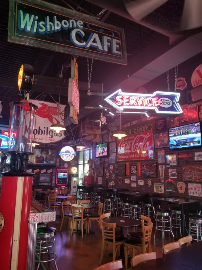 The Filling Station Is A Unique Themed Restaurant In Nebraska