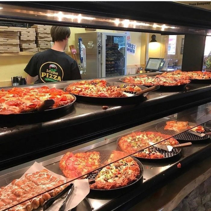Incredible This Pizza Buffet In Idaho Is An Awesome Place To Dine Beutiful Home Inspiration Papxelindsey Bellcom