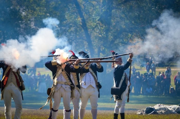 The Revolutionary War Comes To Life At This Huge Battle