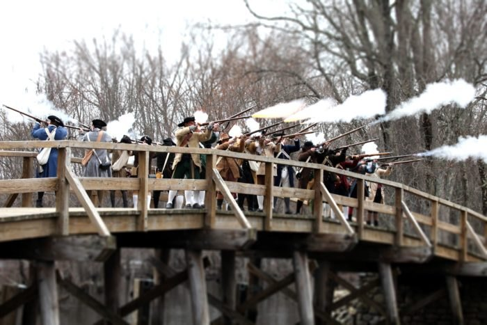 See The Revolutinary War At This Battle Renactment In