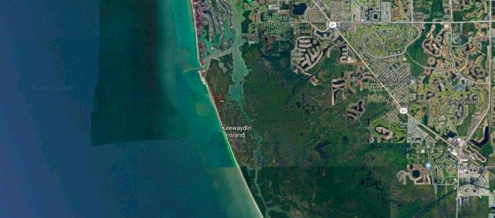Keewaydin Island In Florida Has An Ice Cream Boat & Taco