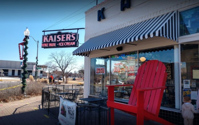 Kaiser's Is An Old-Fashioned Ice Cream Parlor In Oklahoma