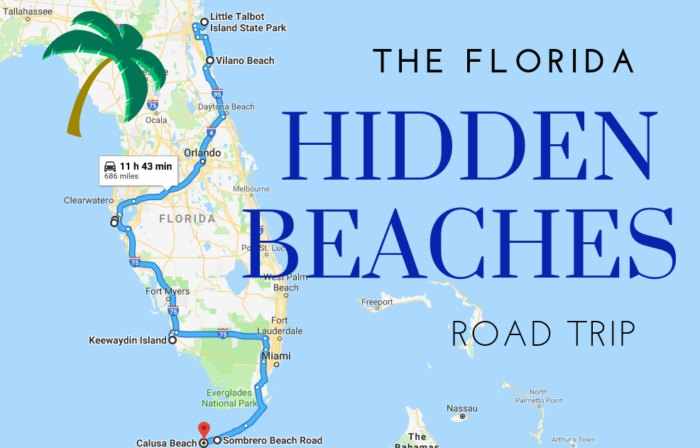 Florida Ocean Map.The Best Beaches In Florida Are Often The Most Hidden