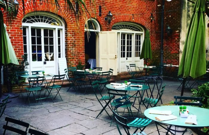 The One Restaurant With The Most Magical Courtyard Dining You've Ever Seen