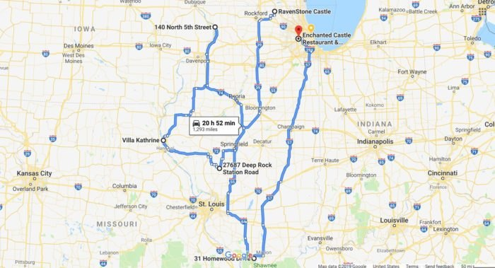 Epic Castle Road Trip In Illinois Is A Game Of Thrones Getaway