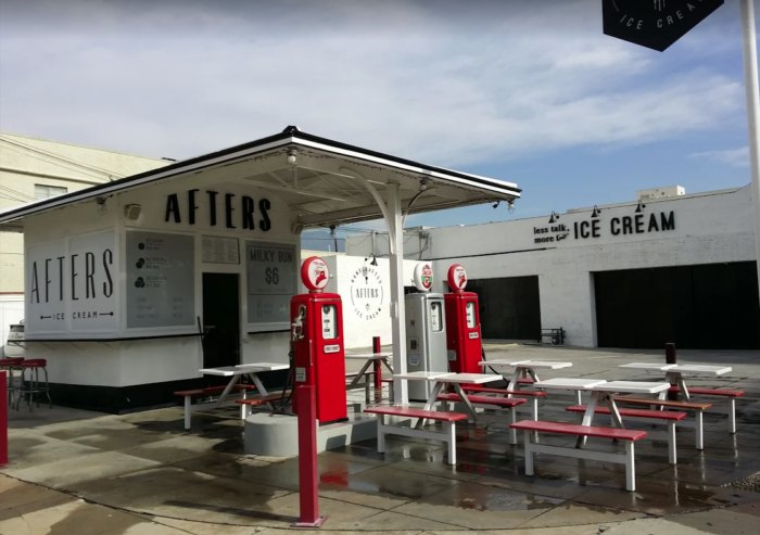 Gas Stations In California >> Afters Pasadena Ice Cream Southern California Used To Be A