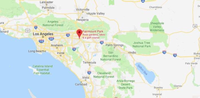 Fairmount Park Riverside California Map.Fairmount Park In Southern California Is The Best Small Town Park