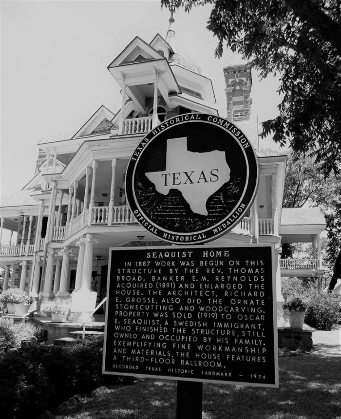 The Seaquist House: Oldest Mansion In Texas Dating Back To