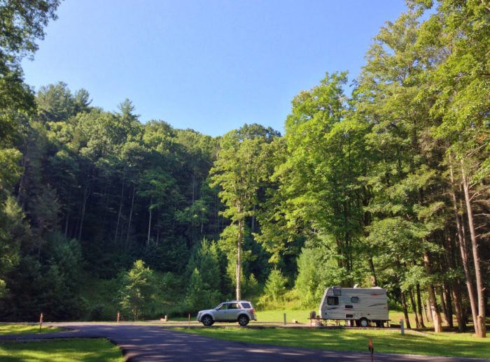 Camp Creek Wv >> The Fun Swimming Hole Campgrounds At Camp Creek State Park