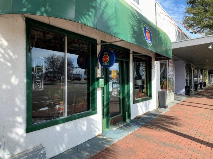 Sun City Cafe In Myrtle Beach South Carolina Has Mexican