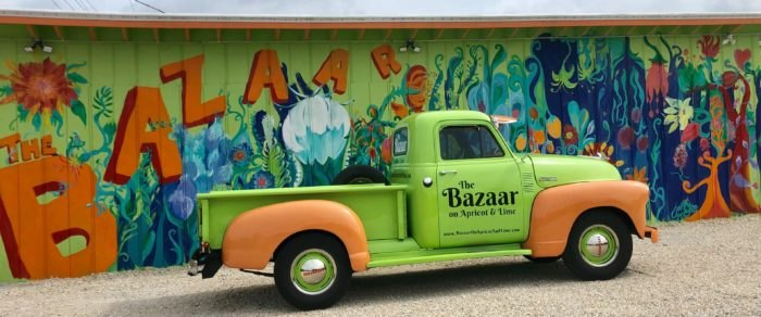 Start Shopping At The Bazaar On Apricot & Lime In Florida